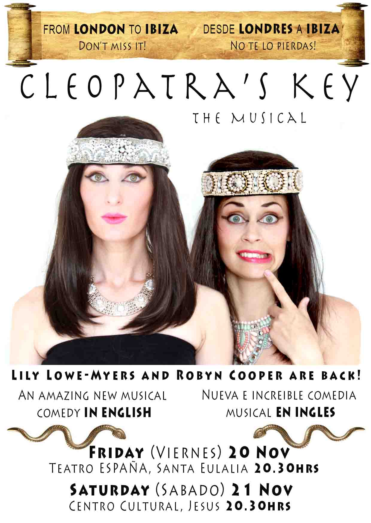 Cleopatra's Key - We're going to Ibiza!